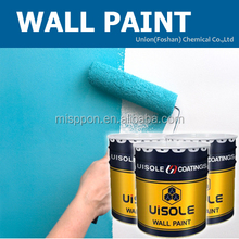 Water based acrylic spray emulsion paint for interior wall
