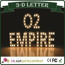 Exposy Resin Frontlit 3d Led Channel Letter , Led Letter Sign, Letter Sign block letters for signs