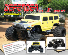 FS-01801 FS-01802 1/4 Scale 35CC Gas 2WD/4WD Hummer MT Touring Car (Defender V)