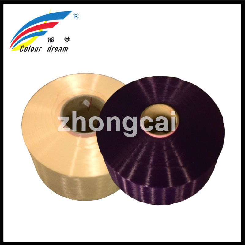 1000D(for final 600d)/288F,poy polyester yarn SD&TBR,100% Polyester Material Spinning Use