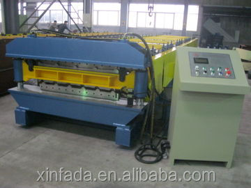 Steel roof shingles roll forming machine