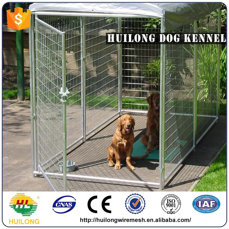 2016 new Cheap Chain Link Large Dog Kennels Huilong factory