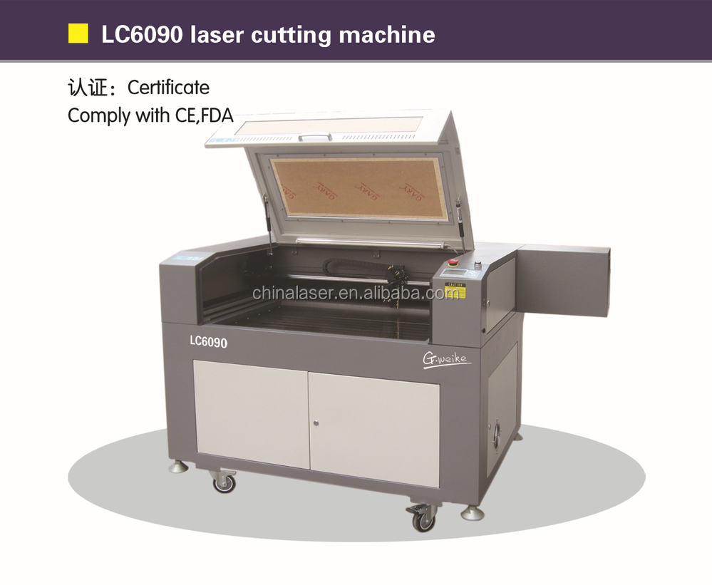 gweike LC6090 CNC CO2 Laser cutting Machine with Sealed CO2 laser tube