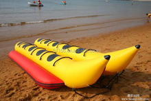 PVC Double Row Banana Inflatable Boat for Sale