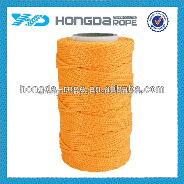 Manufacturer color 2mm waxed braided nylon string