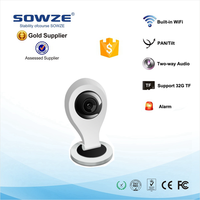 2015 New IR 720P P2P Wireless IP Camera with Voice Guide Smart link and AP Function free software