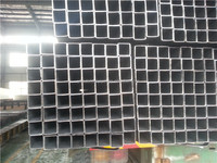 40x40 ms hollow section black annealing steel square pipe