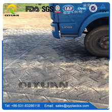 hdpe material ground protection mats PE material construction road mat Plastic Sheet