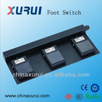 3pdt Foot Switch 10A 250VAC /Stomp Foot Switch