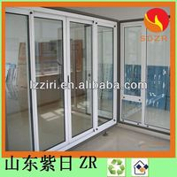aluminum casement window with fixed panel