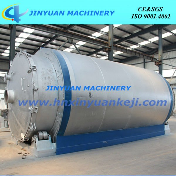 used tyre to oil 10 tons per day waste tyre recycling pyrolysis machinery
