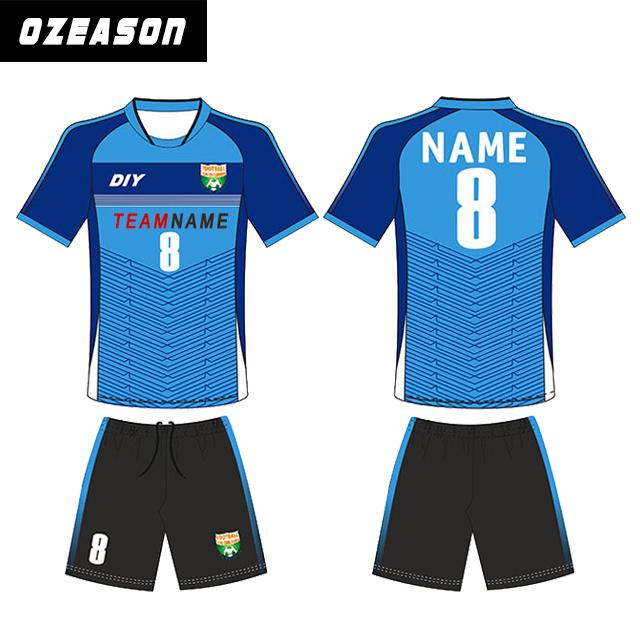 Hige Quality Bulk Soccer Wear Kids Soccer Jersey