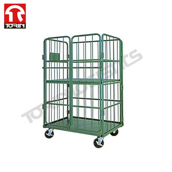 ISO Certificated Durable Folding Metal Logistic Roll Container