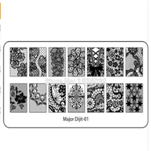 Fancy Halloween Designs New Arrival Holiday Nail Stamping plates Cartoon 1PCS Stainlness Steel Nail Stamping Plate