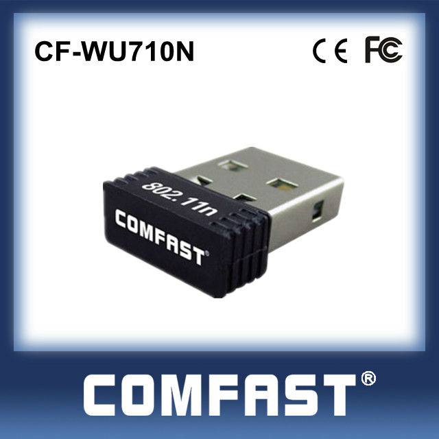 Realtek High Speed Small Wifi Router WLAN USD Card USB2.0 Wireless Network Card Adapter COMFAST CF-WU710N