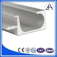 OEM according to drawing design white anodized aluminum