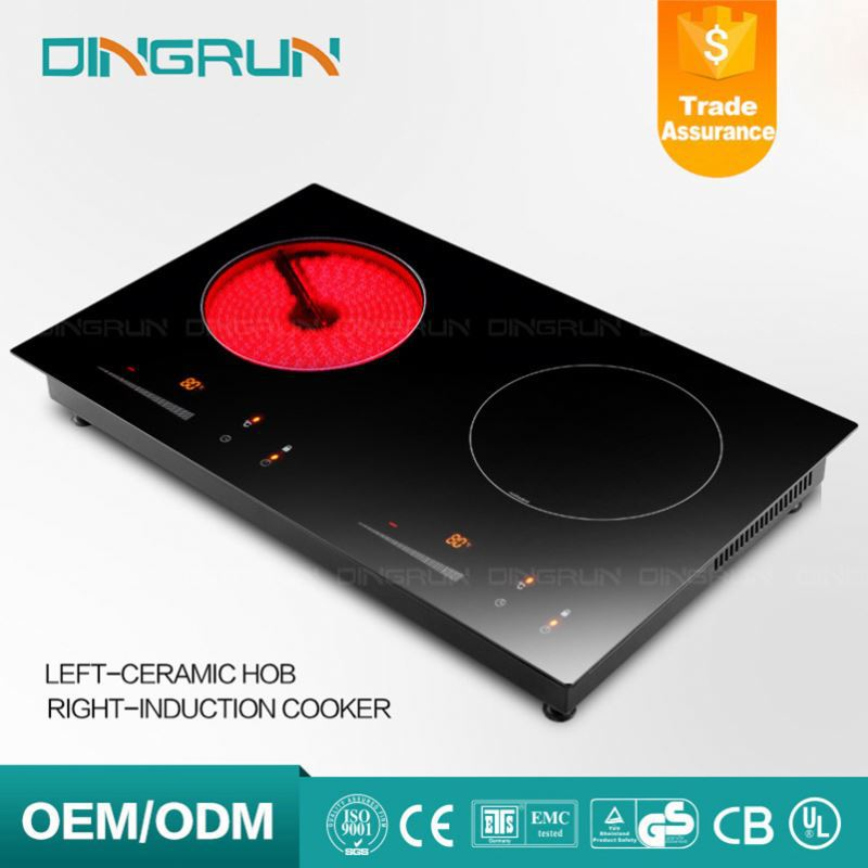 Automatic Double Hob Halogen Induction Cooker