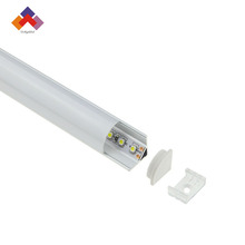 Aluminum LED Architecture Profile For LED Strips light/aluminum extrusion/aluminum channel for corner
