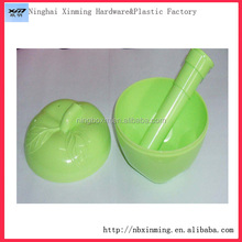 Factory promotional plastic apple shape bowl
