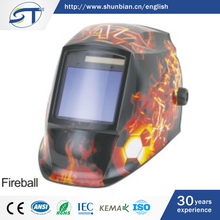 SHUNTE Wholesale Nepal Fancy Fireball Printed Automatic Welding Helmet Decals