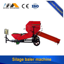 Automatic Mini Stretch Film Hay Wheat Straw Silage Bundle Bale Wrapping Machine/Grass Baler Machine for sal