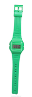 wholesale cute style silicone strap cheap digital watch