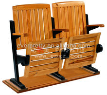 Wooden Campus Amphitheater Desk Chair for Conference Hall Chair,Lecture Hall Desk and Folding Seat