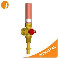 (GJ-HAV-434) brass washing machine Wirsbo Pex valve with water hammer arrestor