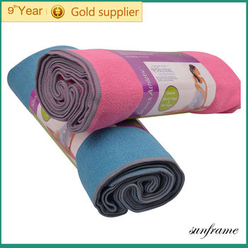 420g/m2 Microfiber yoga towel,gym gifts,sport towel, beach towel,hot yoga towel,softeners dryer sheets