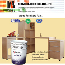 Matte polyurethane white furniture paint for wood