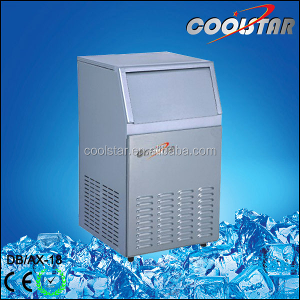 Commercial 18kg square Ice Cube Maker - Spray Mode