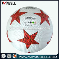 Winsell deflated cheap price golf surface rubber soccer balls
