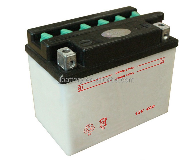 12v 4ah electric motorcycle battery with good quality