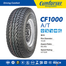 CHINESE HIGH QUALITY NEW A/T CAR TIRE CF1000