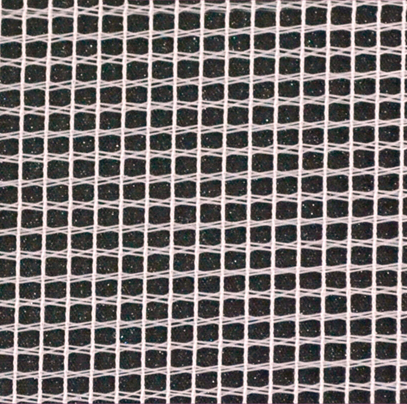 Multicolor Knitted Tricot Mosquito Net Mesh Fabric with Square Mesh