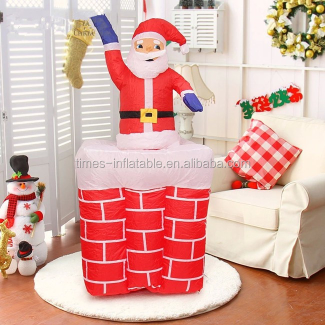 Best quality hot-sale santa claus inflatable for christmas