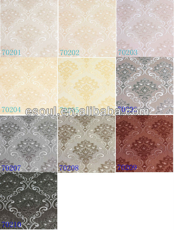 2013 the most fanshion American flower wallpaper with Esoul design