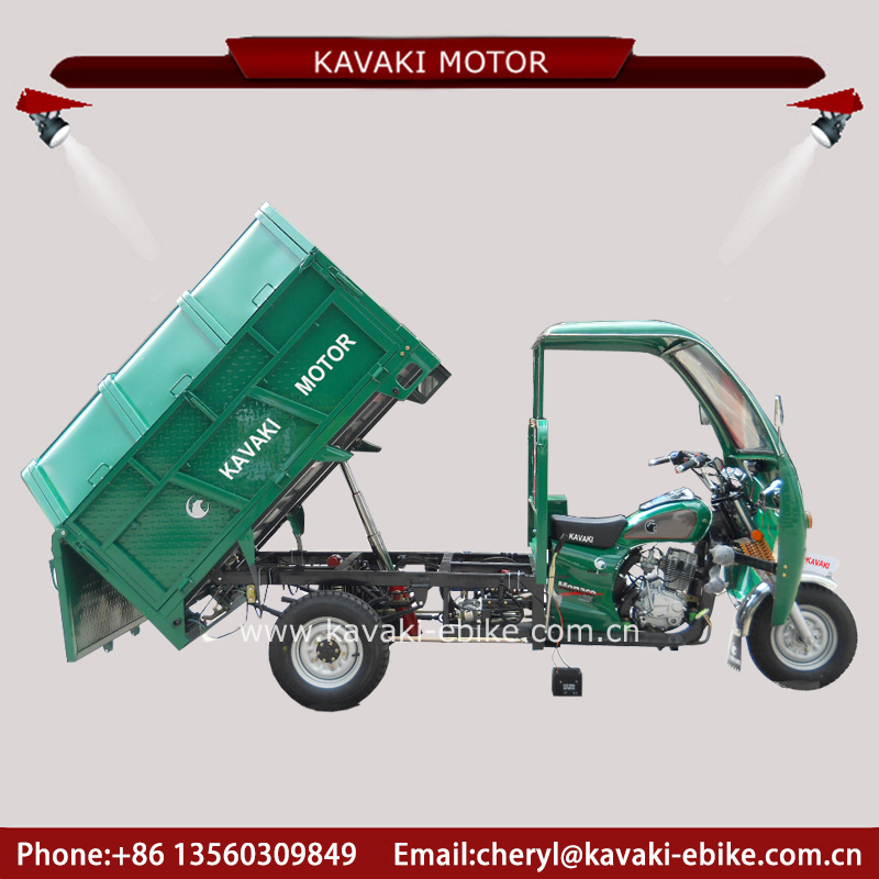 China rubbish collector good dumper three wheel truck different rear axle assembly for tricycle