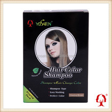 Yosaten Hair Dye Shampoo Chestnut Brown Hair Color Professional Hair Color Brands