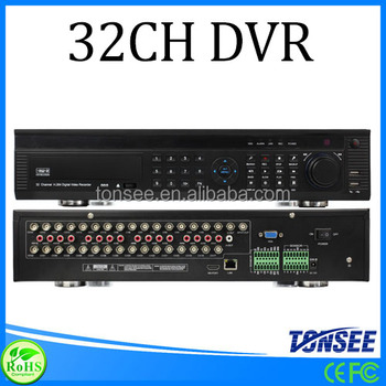 32 CH DVR,3g wifi gps car dvr, avtech h 264 dvr