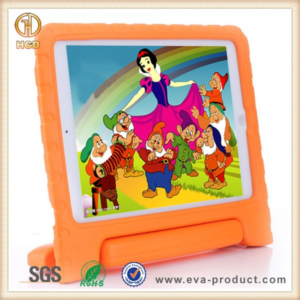 New Arrival Kids Shock Proof Foam Stand Protective Tablet Case for iPad Air 2