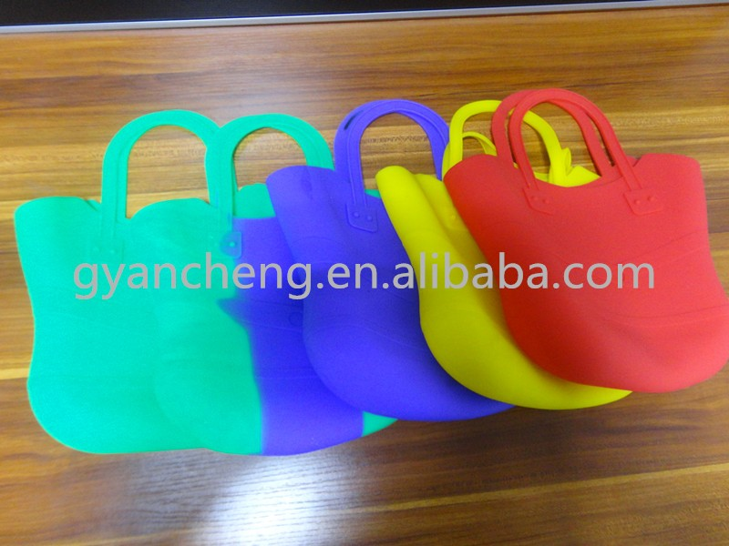 2018 Newest Environmental Water-proof Rubber Silicone Handbag