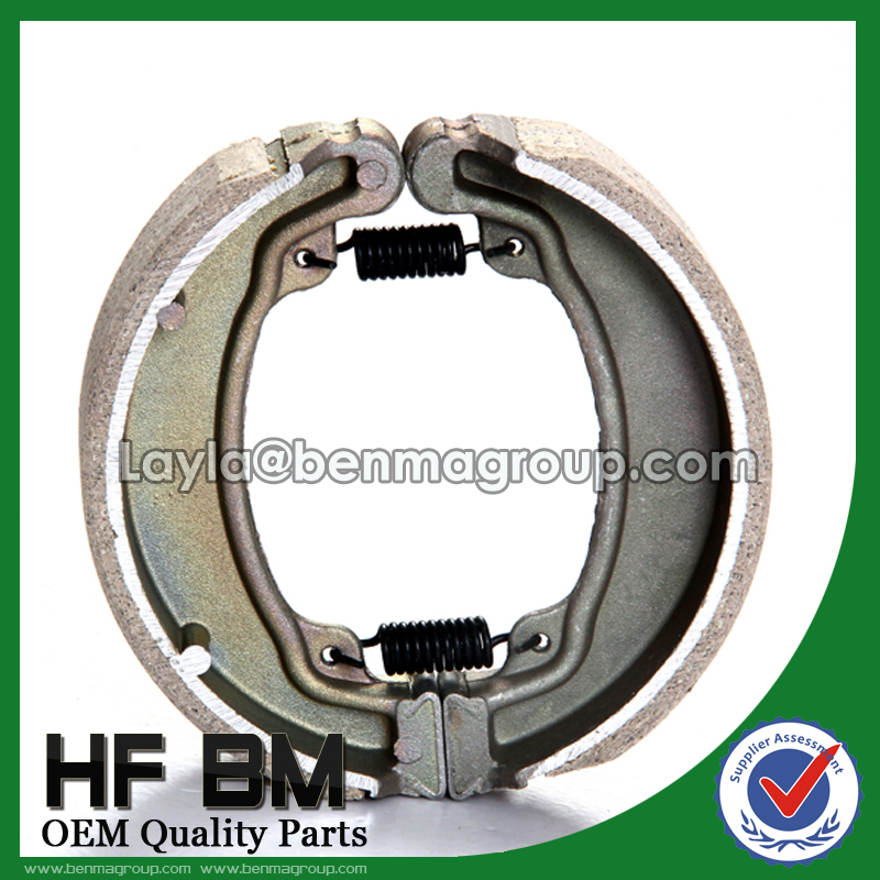 Chinese Manufacture Motorcycle WY125 Brake Shoe, OEM Provided