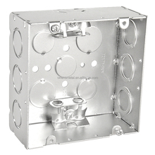 Metal outlet box galvanized metal switch box junction box
