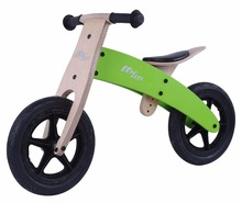 12'' Balance Wooden Bikes with EVA Tire For Kids Exercise as Children toy