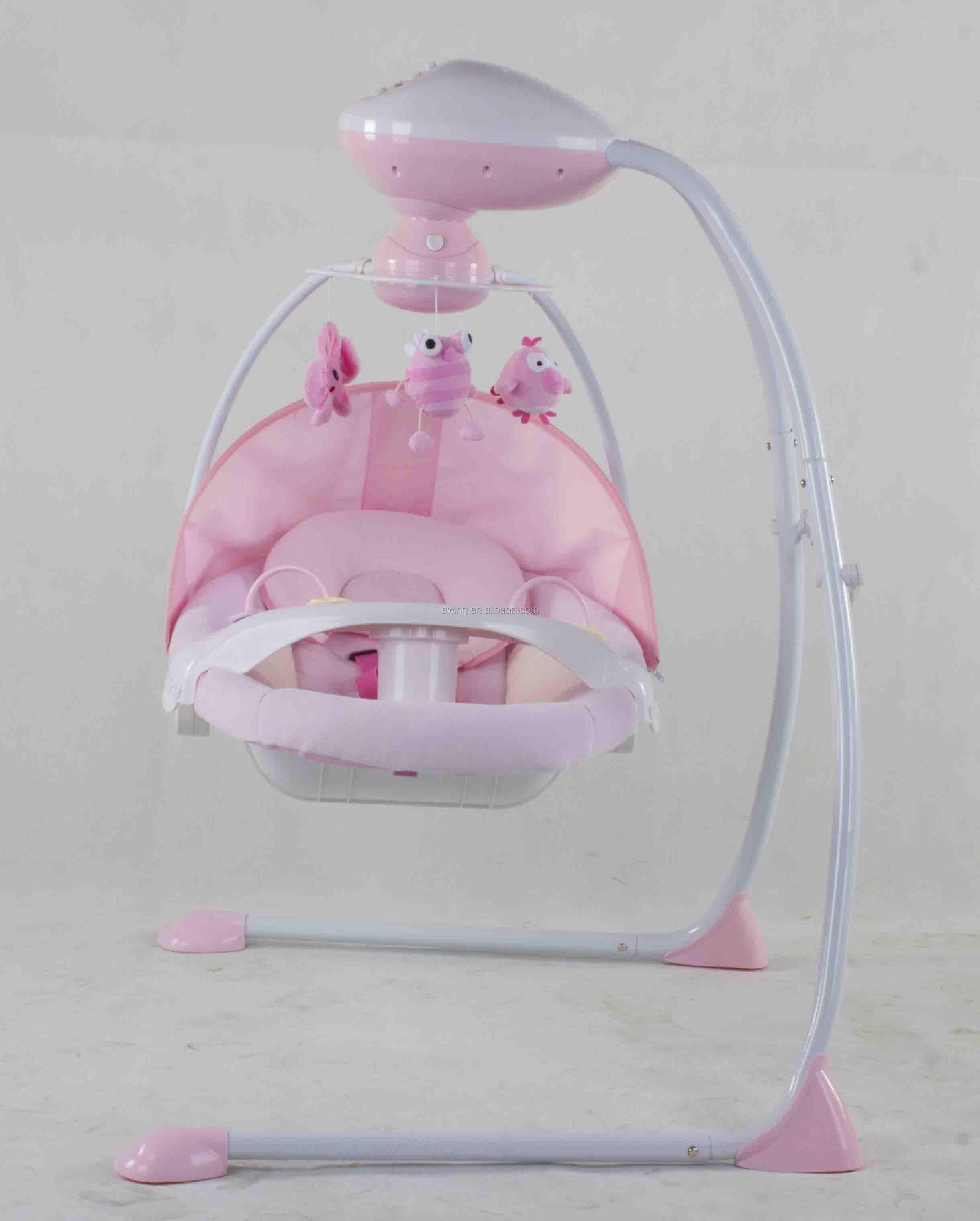 indoor schaukel elektrische babybett baby schaukel elektrischen elektronischen swing mit. Black Bedroom Furniture Sets. Home Design Ideas