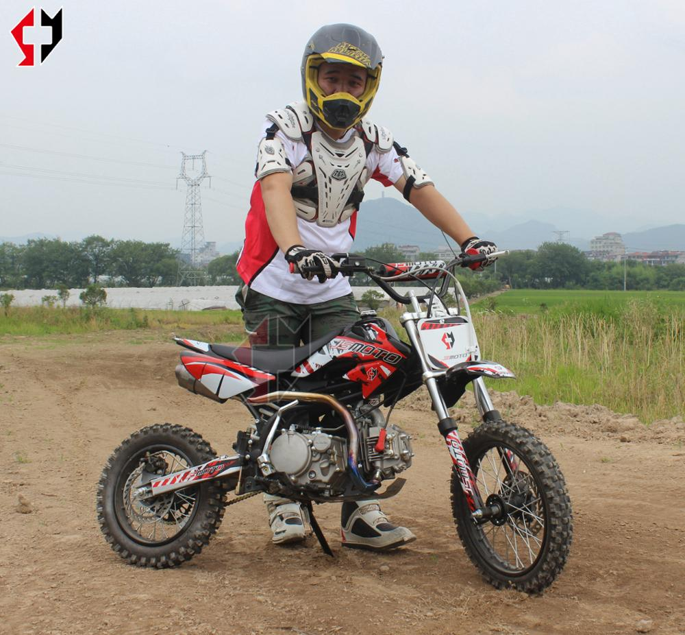 125cc EPA dirt bike mini moto motorcycle 125cc pitbike 4stock lifan125cc engine SYMOTO