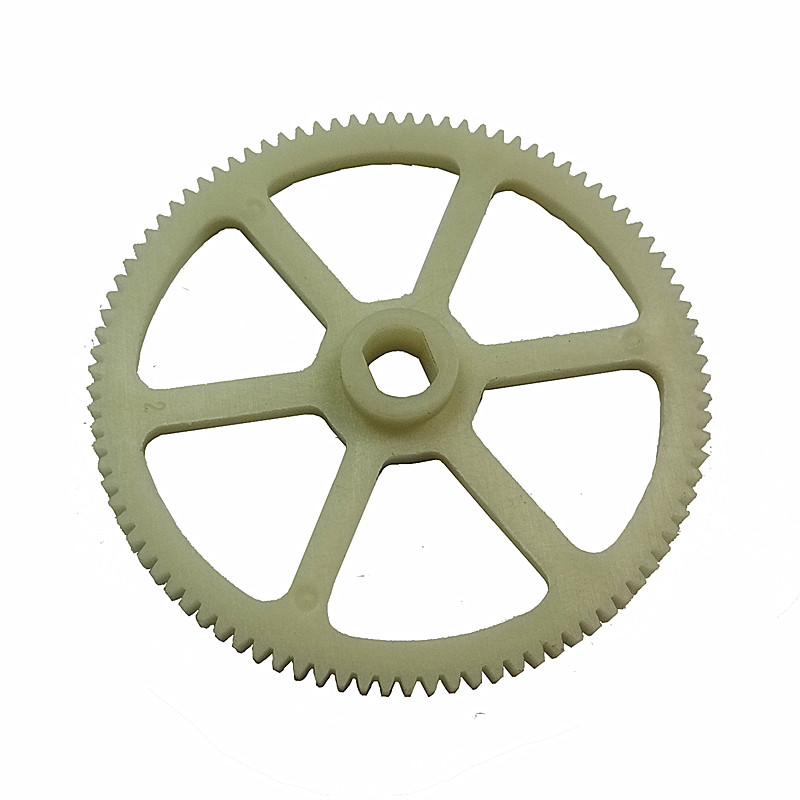 China Custom Made Plastic Machined Injected Gear Wheel Plastic Straight Tooth Gear Spur Gears