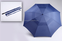 2016 China Manufacturer Promotional Custom Design Windproof UV protection Golf Umbrella