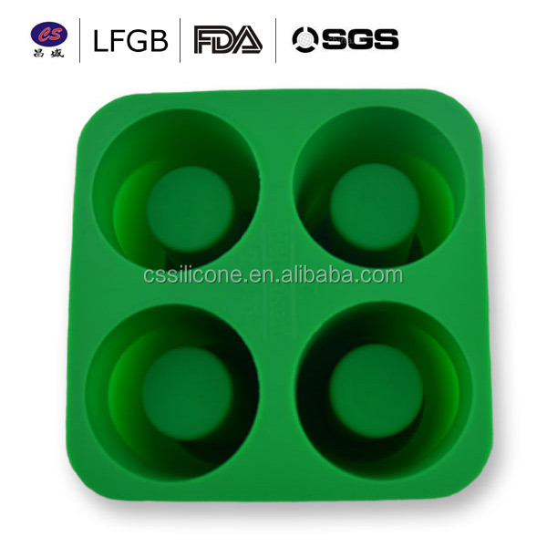 Hot selling factory price wholesale cheap colorful silicone ice mould ice cube tray